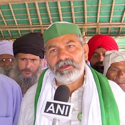 'We don't engage in violence': Rakesh Tikait says police and govt want to instigate farmers