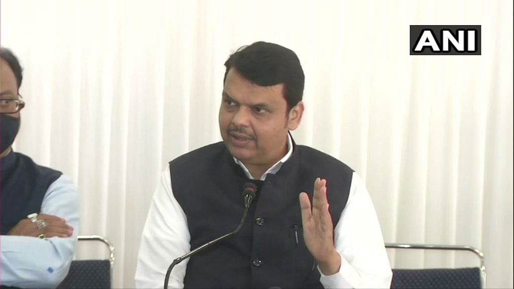 Deshmukh was not in isolation during home quarantine period, alleges Devendra Fadnavis