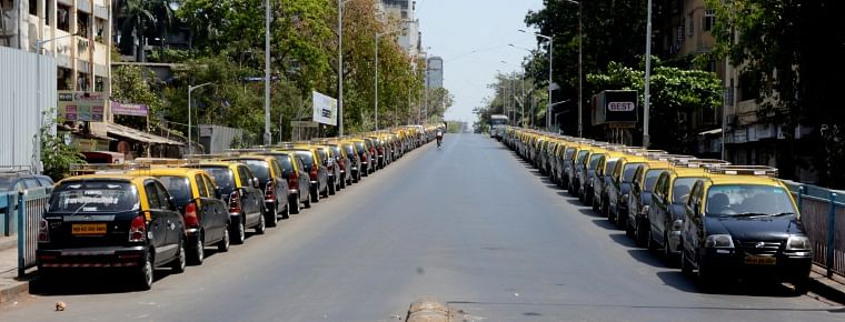 Due to lockdown, taxis, auto-rickshaws were not functioning leaving many drivers jobless