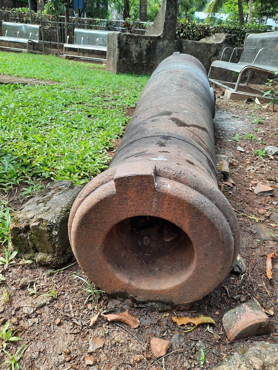 BMC to restore 18th-century cannons in Ghatkopar