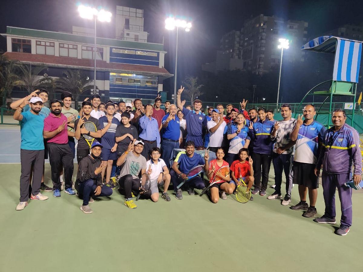 Sajid Lodi Tennis Academy adjudged best in country