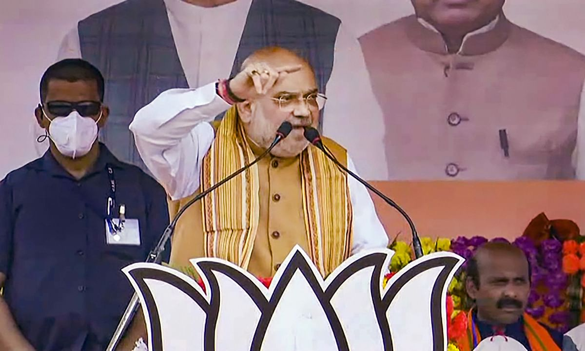 TMC swindling Cyclone Amphan relief fund in West Bengal, says Amit Shah