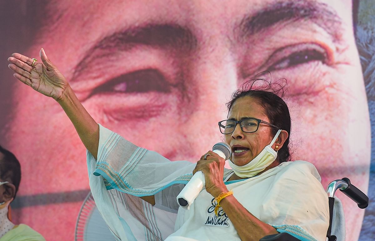 Mamata Banerjee writes to opposition leaders, underscores 'assaults' by BJP, govt on democracy