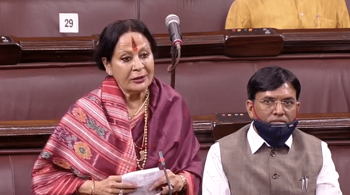 On International Women's Day, BJP MP Sonal Mansingh says Men's Day should also be celebrated
