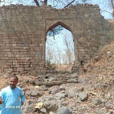 View around Satavahana era mystery cave