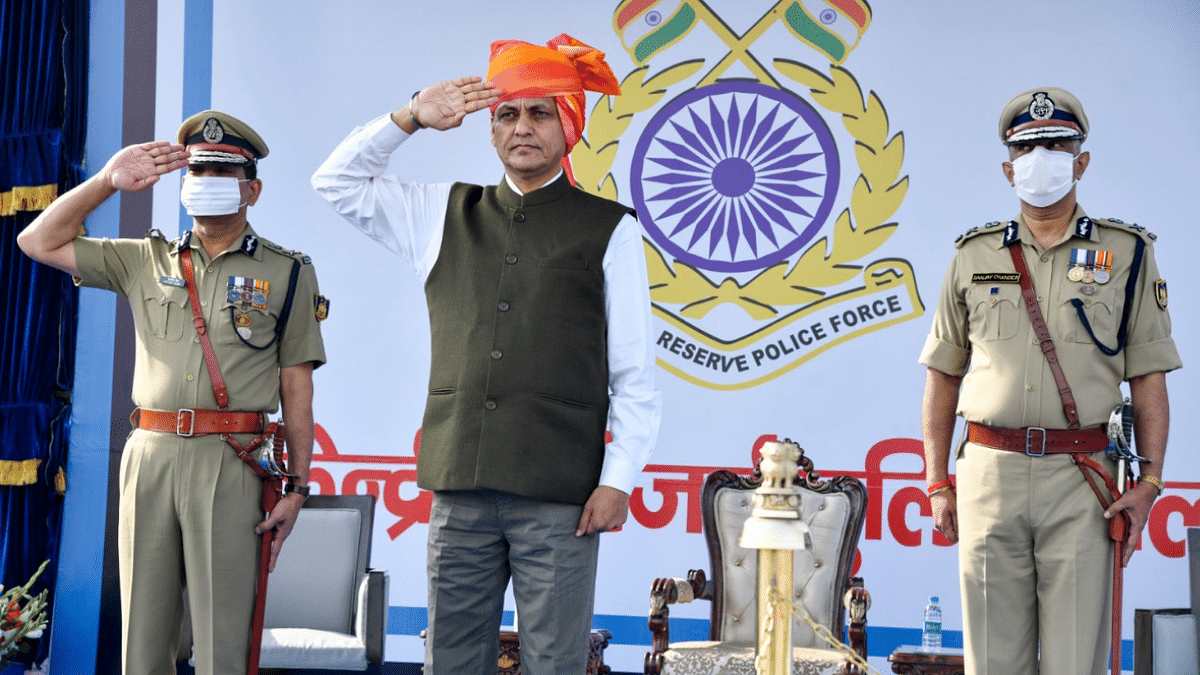 MoS Home Nityanand Rai at 82nd anniversary of the Central Reserve Police Force
