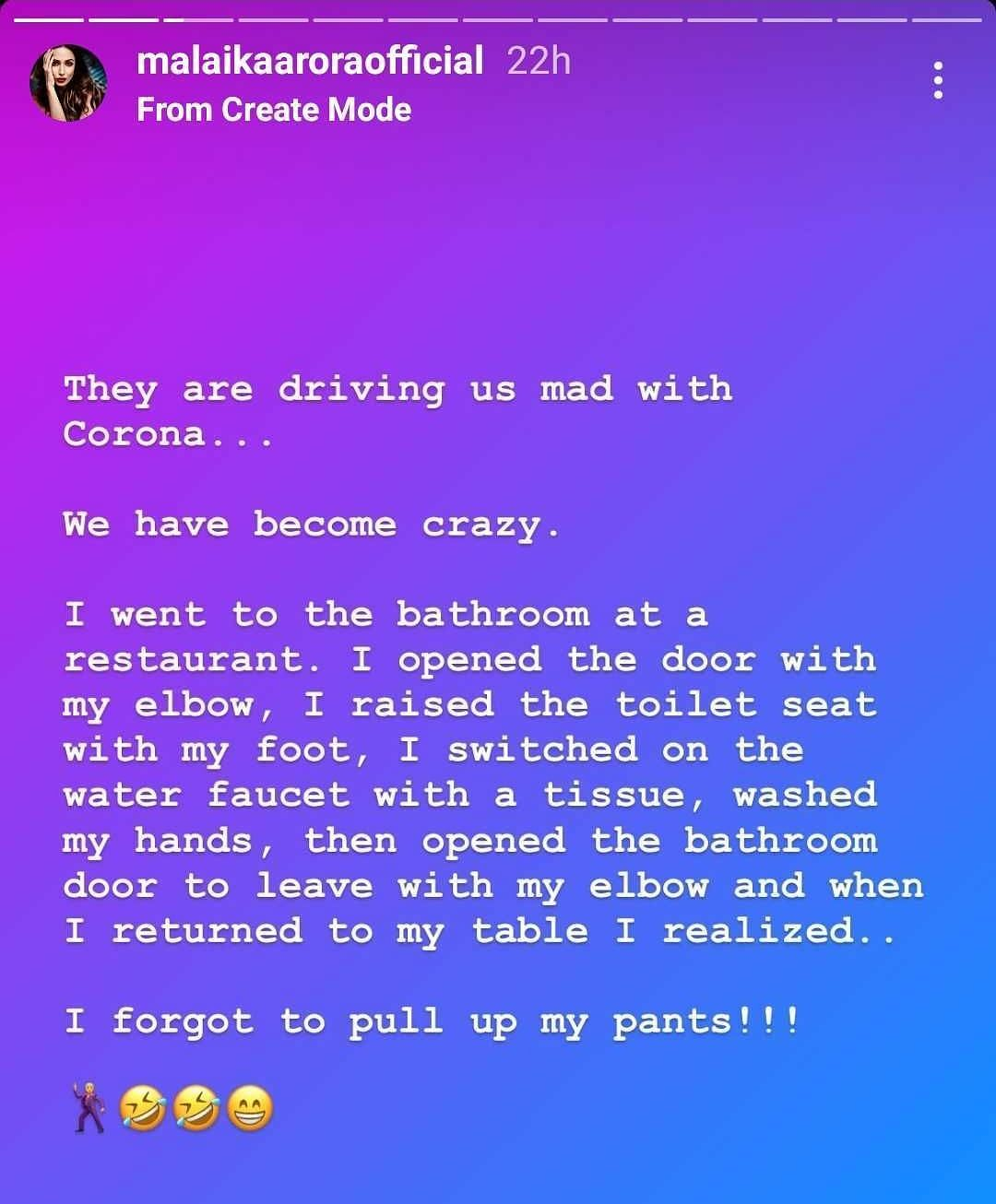When Malaika Arora forgot to pull up her pants at a restaurant!
