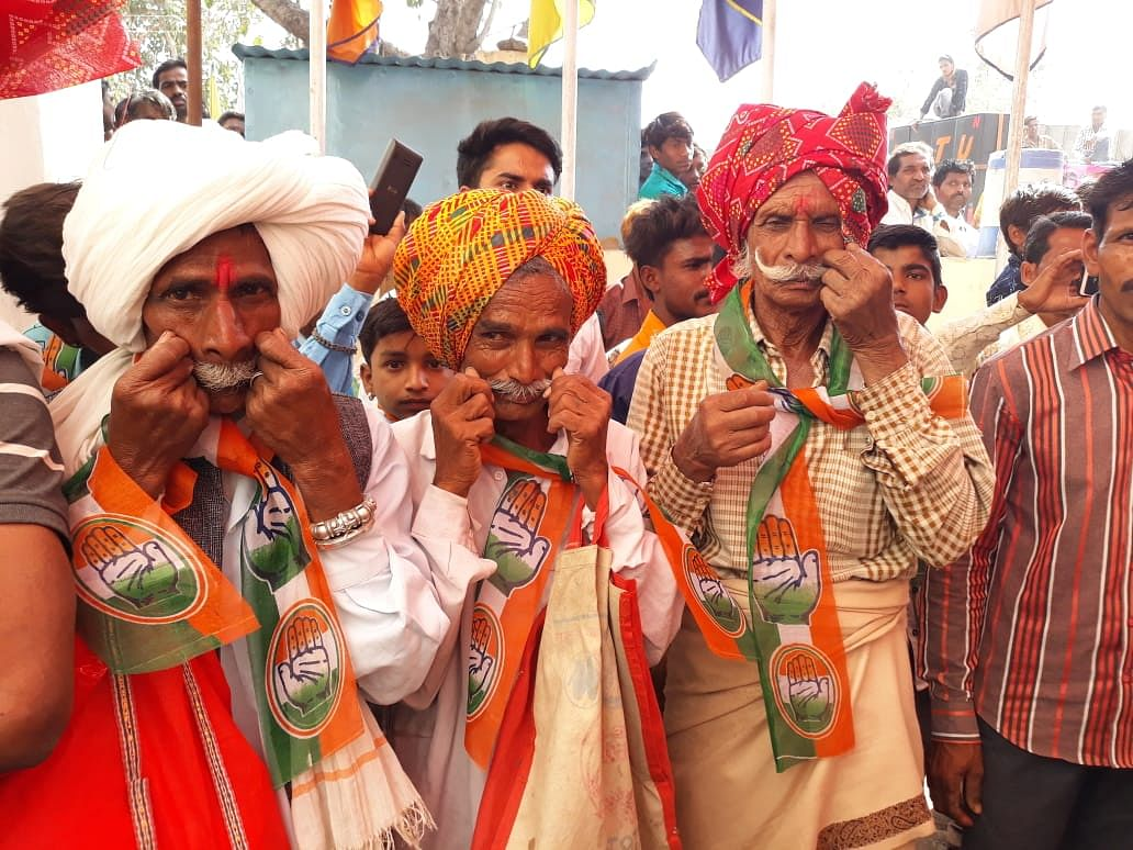 Tribals at Bhagoria fest in Dhar district in 2020
