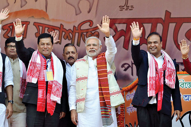 BJP to return to power in Assam, says pre-poll survey