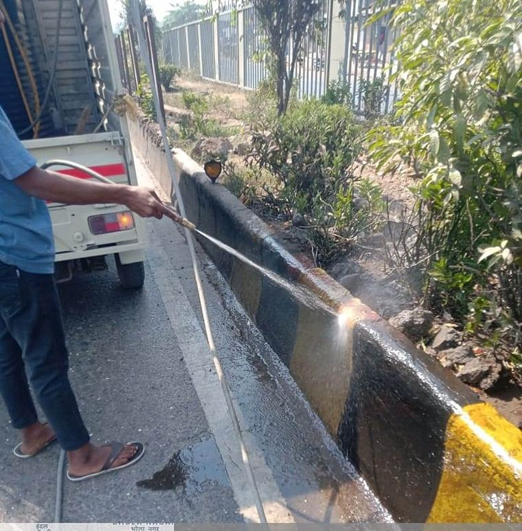 Navi Mumbai: NMMC to clean roads and dividers with sewage treated water