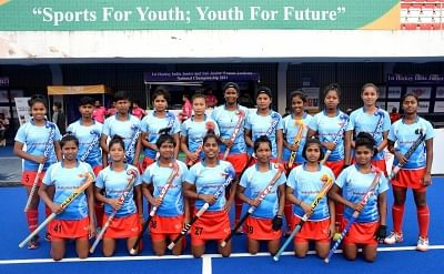 Sub-junior women's hockey: SAI Academy vs Madhya Pradesh in semis