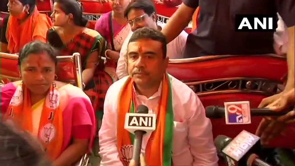 West Bengal Polls: Suvendu Adhikari files nomination from Nandigram, set to contest against Mamata Banerjee