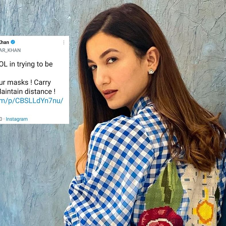 After FIR, old tweet of Gauahar Khan on COVID-19 norms comes back to haunt her