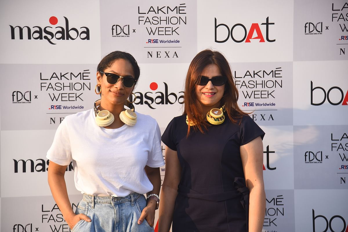 FDCI X Lakme Fashion Week 2021: Anusha, Shibani Dandekar, Masaba Gupta and others arrive for the phygitical event