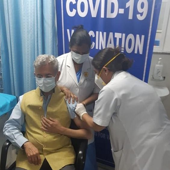 After PM Modi, EAM Jaishankar takes first dose of COVID-19 vaccine 'Covaxin'