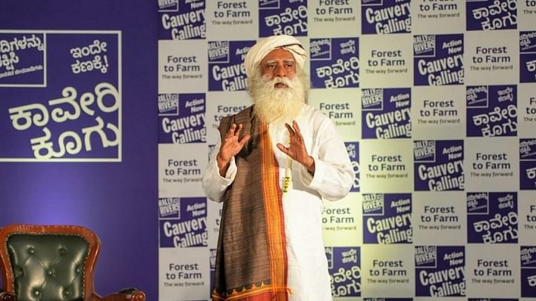 Forest to Farm is the way forward, says Sadhguru at Cauvery Calling event in Bangalore