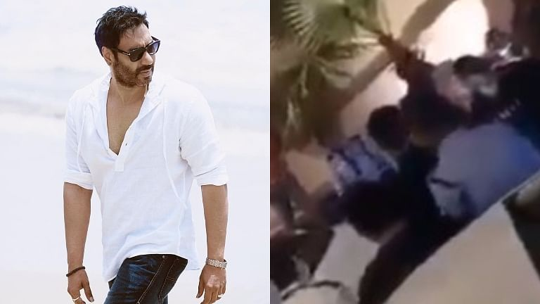 Ajay Devgn's team rubbishes rumours of actor being involved in brawl after video from Delhi goes viral