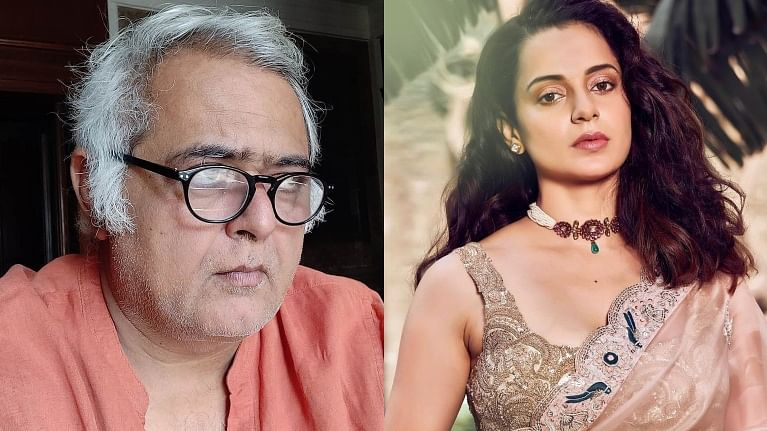 'Another out and out Kangana show': Director Hansal Mehta calls 'Thalaivi' trailer 'impressive'