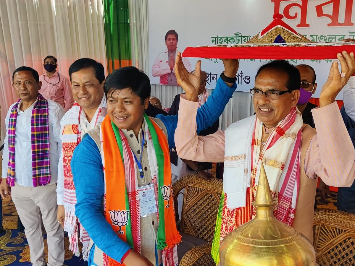 Madhya Pradesh: Congress will destroy India, says chief minister during election rally in Assam