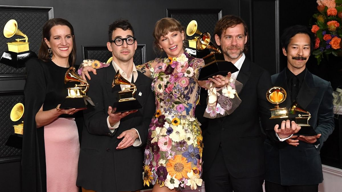 Grammys 2021: Taylor Swift wins album of the year, becomes first woman to receive top honour thrice