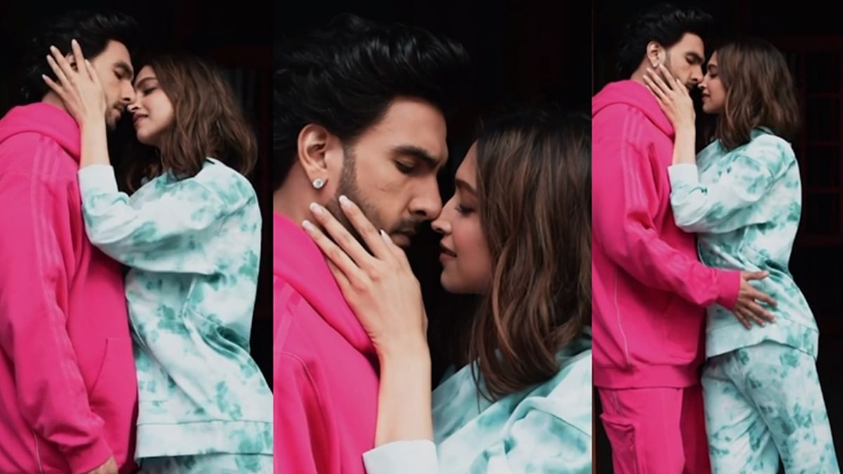 Watch: Deepika, Ranveer give the viral 'Silhouette Challenge' a quirky twist