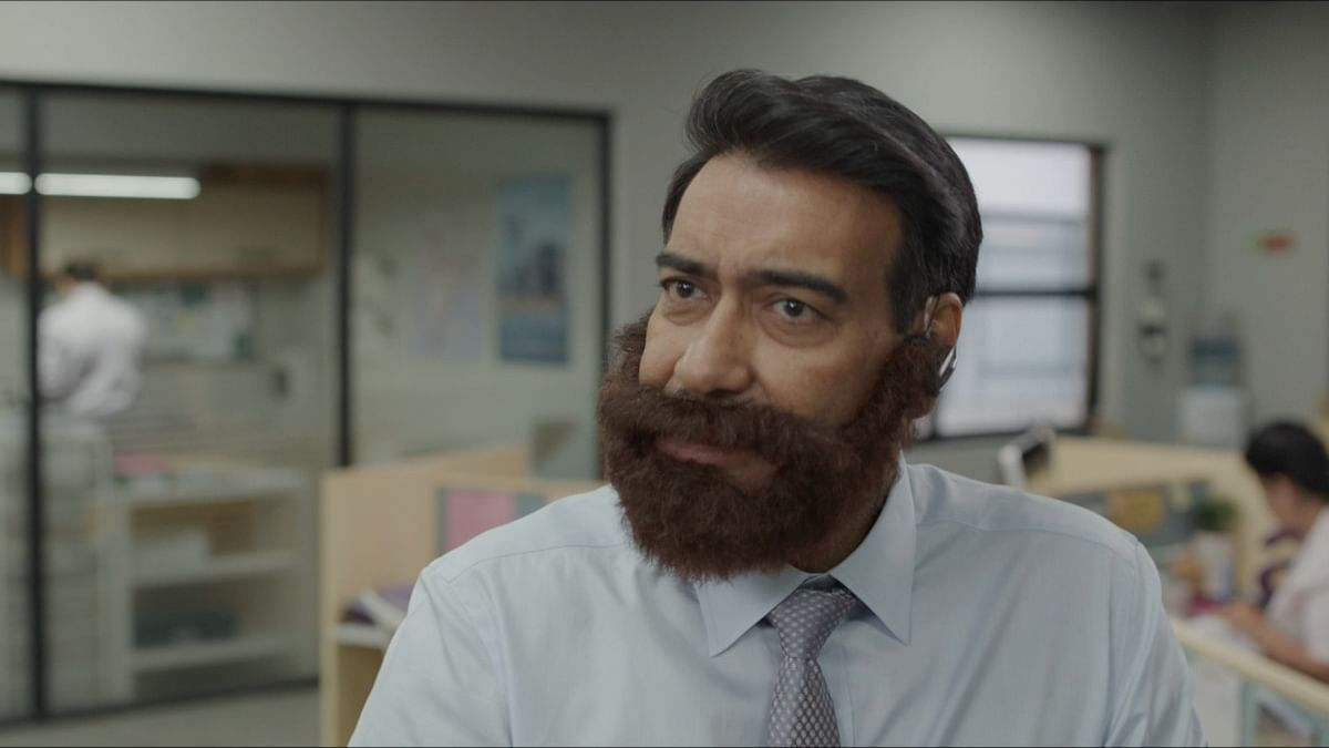 Leaked! Ajay Devgn's look from upcoming project with  Disney+ Hotstar goes viral; netizens call him 'Desi Santa Claus'