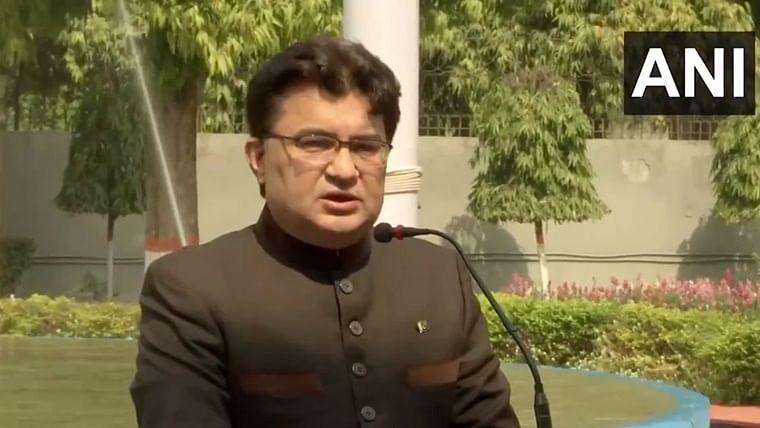 Pakistan High Commission charge d'affaires Aftab Hasan Khan