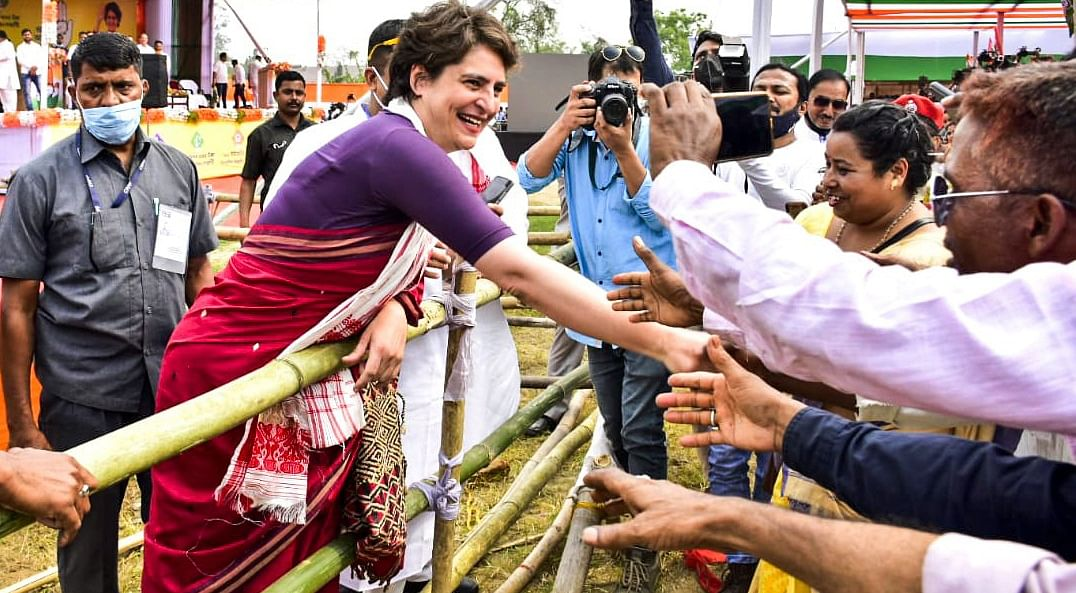 PM sad for tweet by 22-yr-old woman, but not for flood-hit people in Assam: Priyanka
