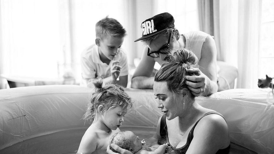 Hilary Duff, Matthew Koma welcome baby girl; share first glimpse