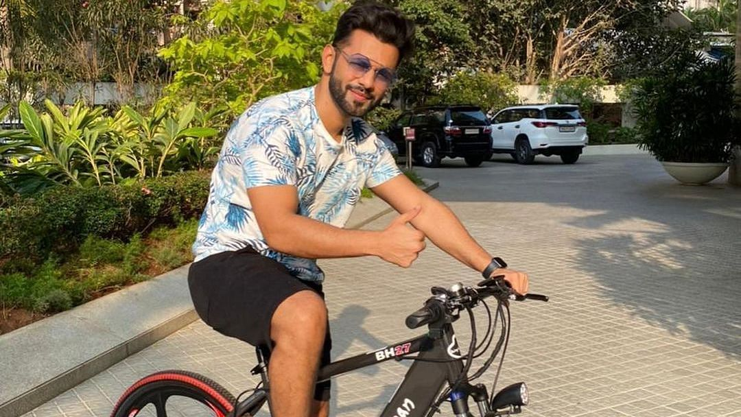 Salman Khan gifts 'Bigg Boss 14' runner-up Rahul Vaidya e-cycle worth Rs 54,000