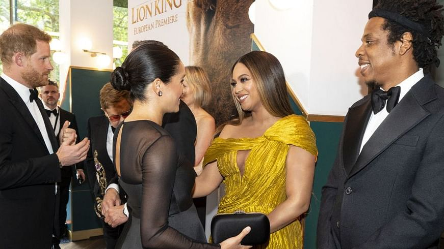 'We are all strengthened by you': Beyonce shows support for Meghan Markle after Oprah Winfrey interview