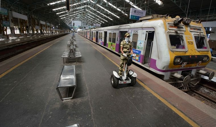 In a bid to curb the spread of virus, the Maharashtra Government had shut services of Mumbai local train