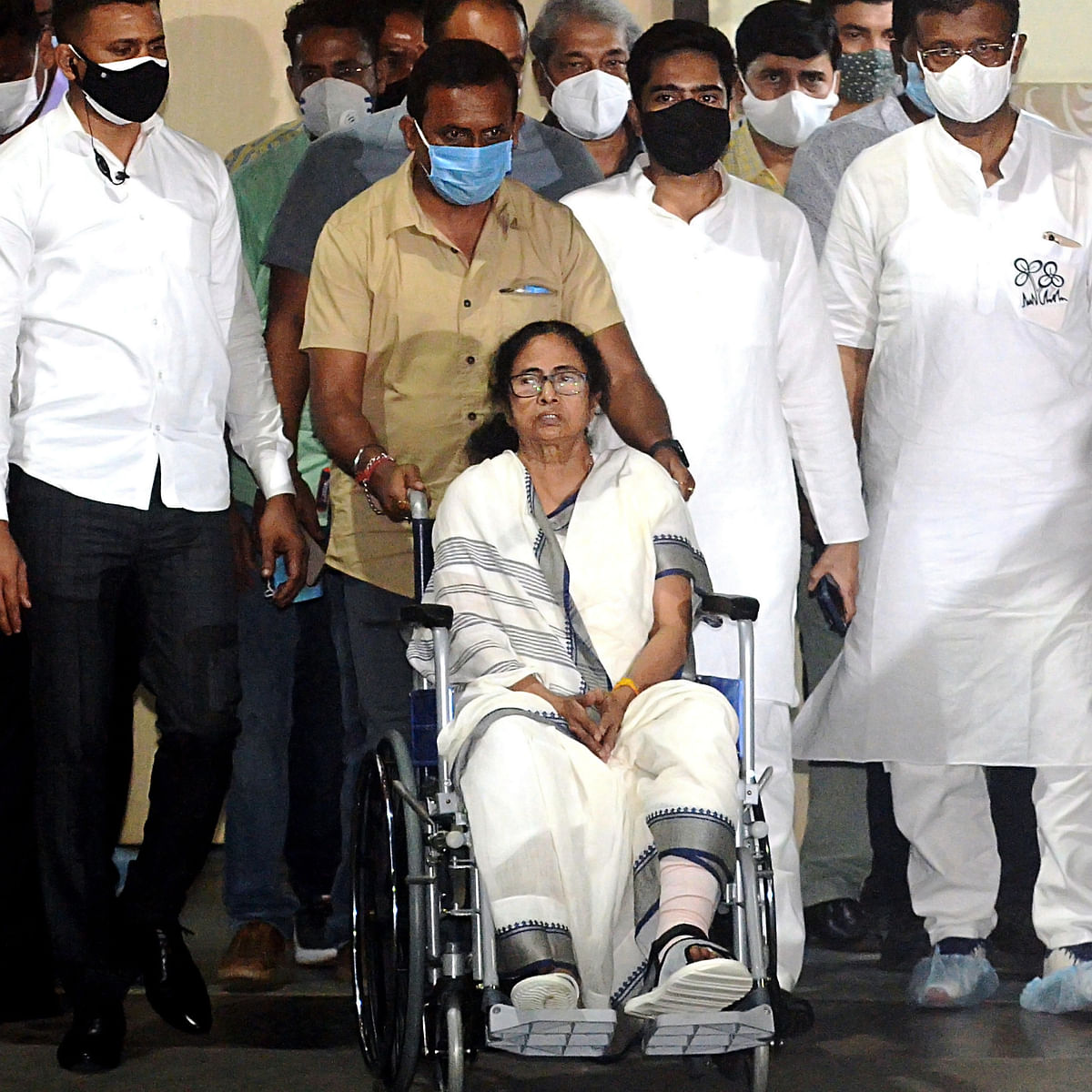 West Bengal Assembly polls: Days after 'attack', Mamata Banerjee to conduct roadshow on wheelchair in Kolkata today