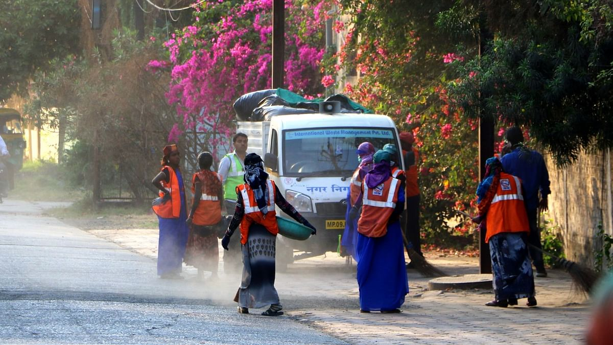 Swachhata Didi .... city owes its cleanliness awards to them.