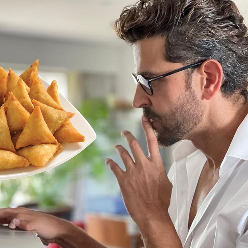 Check out Hrithik Roshan's epic reply to fan who said his sharp nose can cut potatoes for samosas