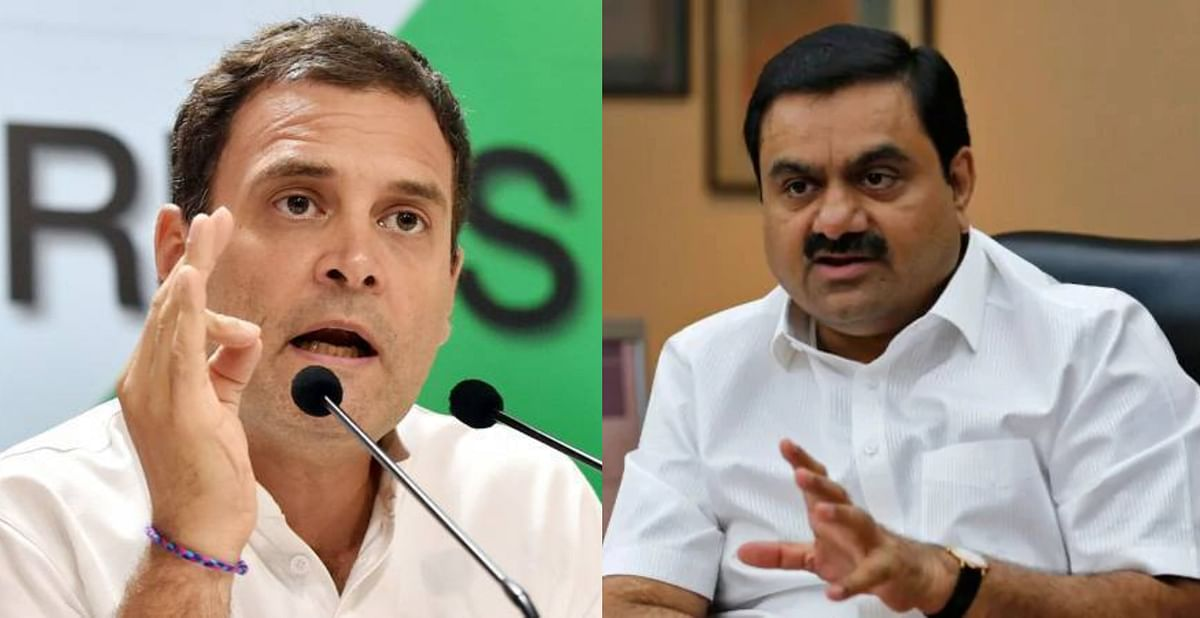 'You struggle to survive while he...': Rahul Gandhi takes a jibe at Gautam Adani over massive wealth surge