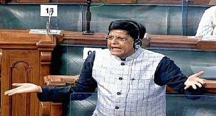 Railway Minister Piyush Goyal clashes with Shiv Sena MPs on bullet train