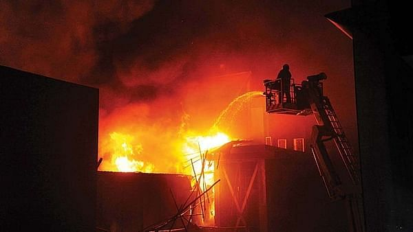 Thane: Fire in Thane residential building, 28 power meters gutted