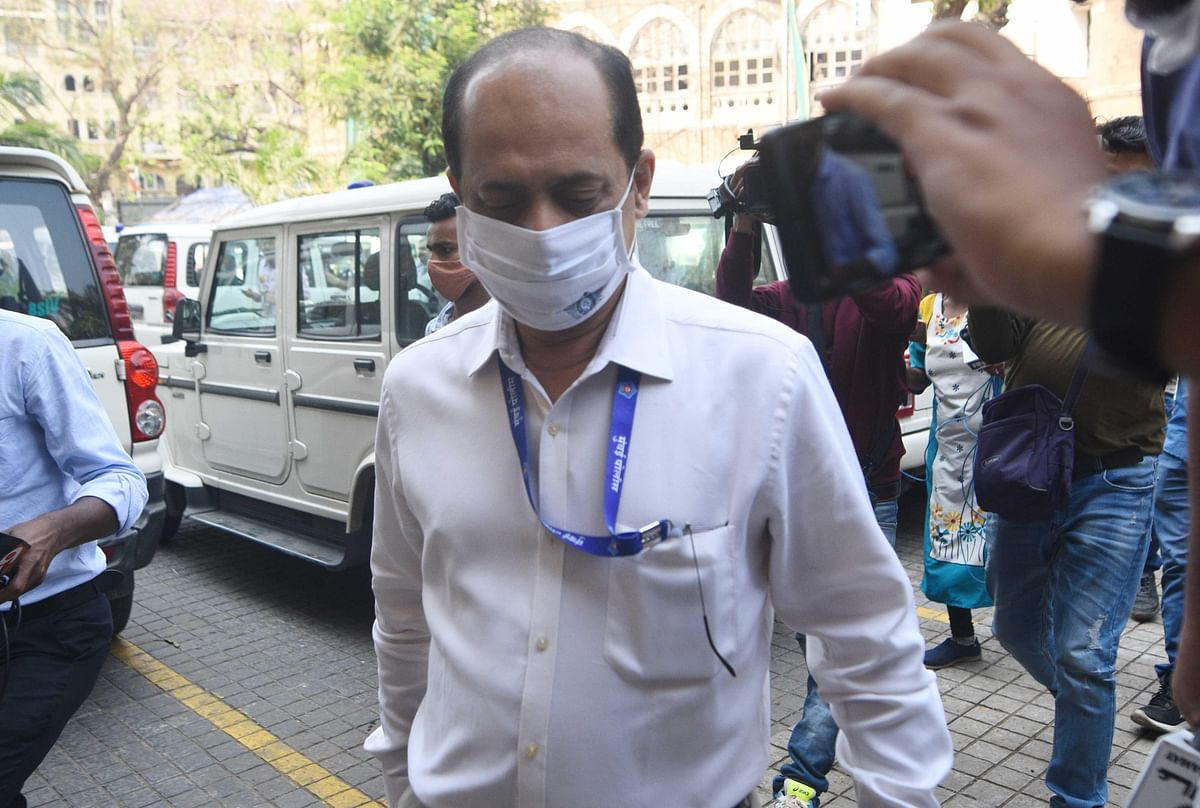 Antilia bomb scare: CCTV footage reveals Sachin Vaze went back to SUV to place threat letter