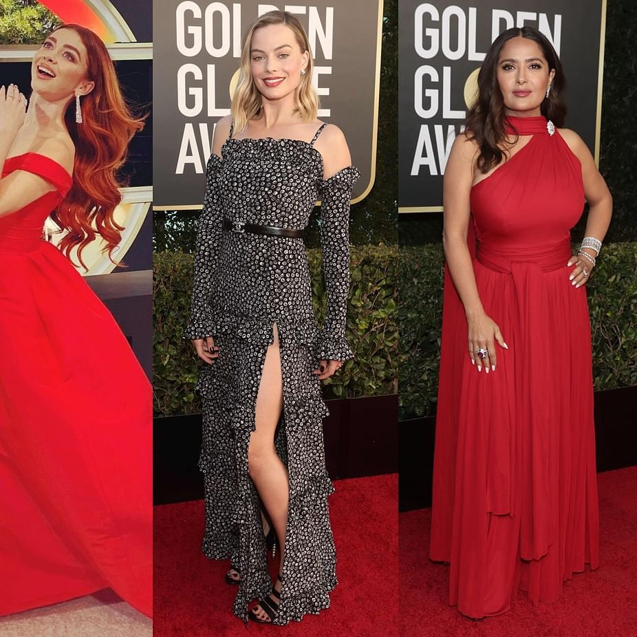 Golden Globes 2021 Red Carpet: From Salma Hayek to Margot Robbie - stars amp up their fashion game