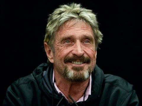 Software guru John McAfee charged in cryptocurrency scam