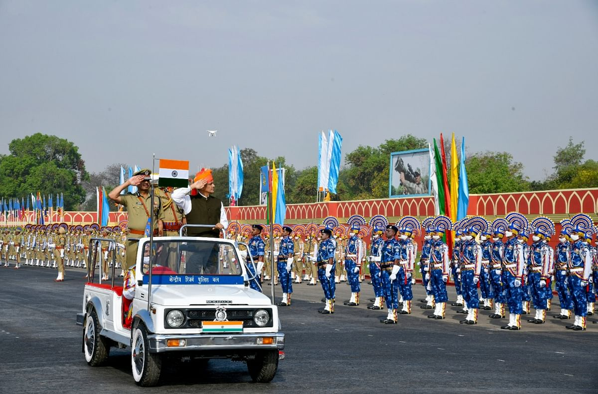 CRPF celebrates 82 years of grit and glory