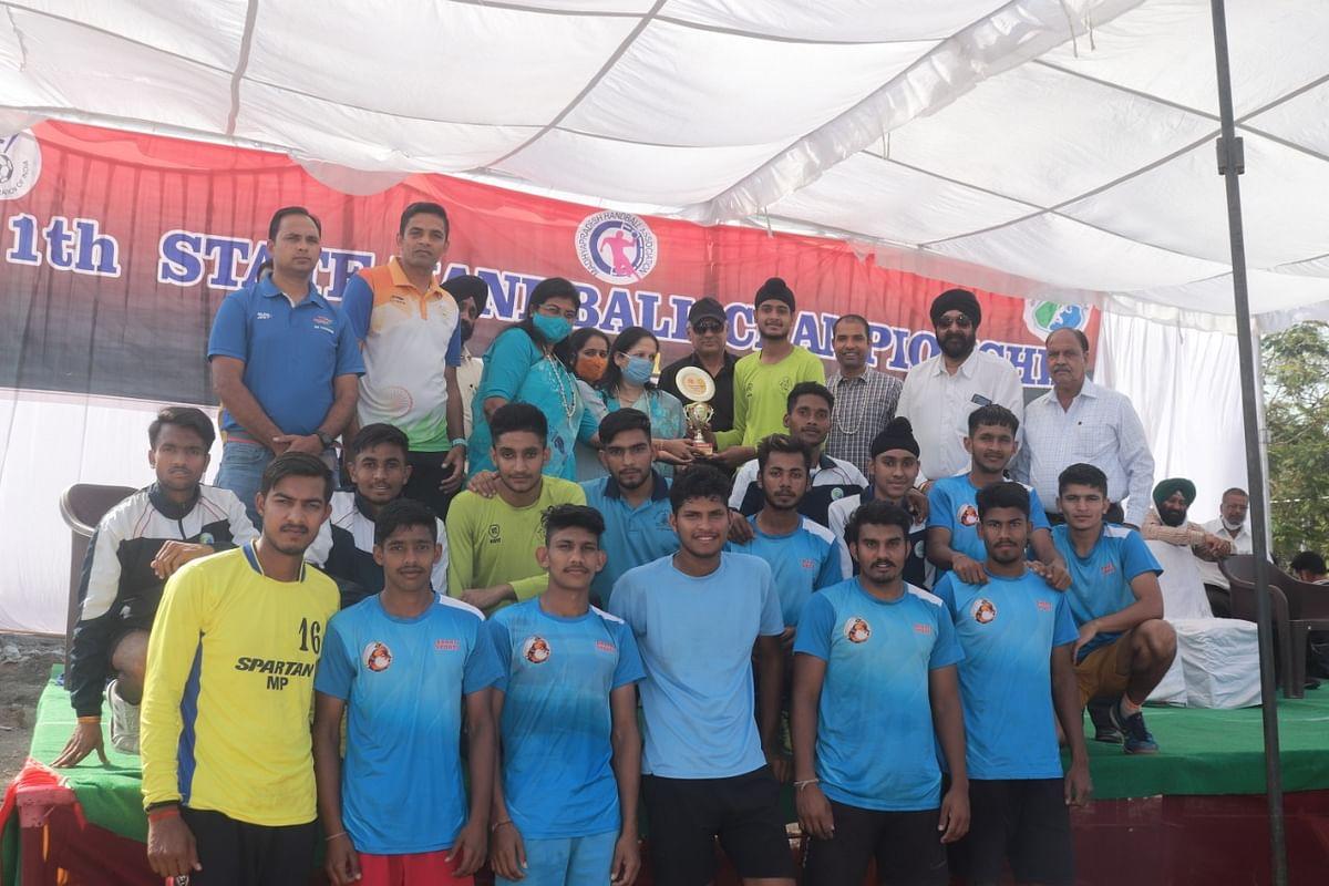 Winners of handball competition