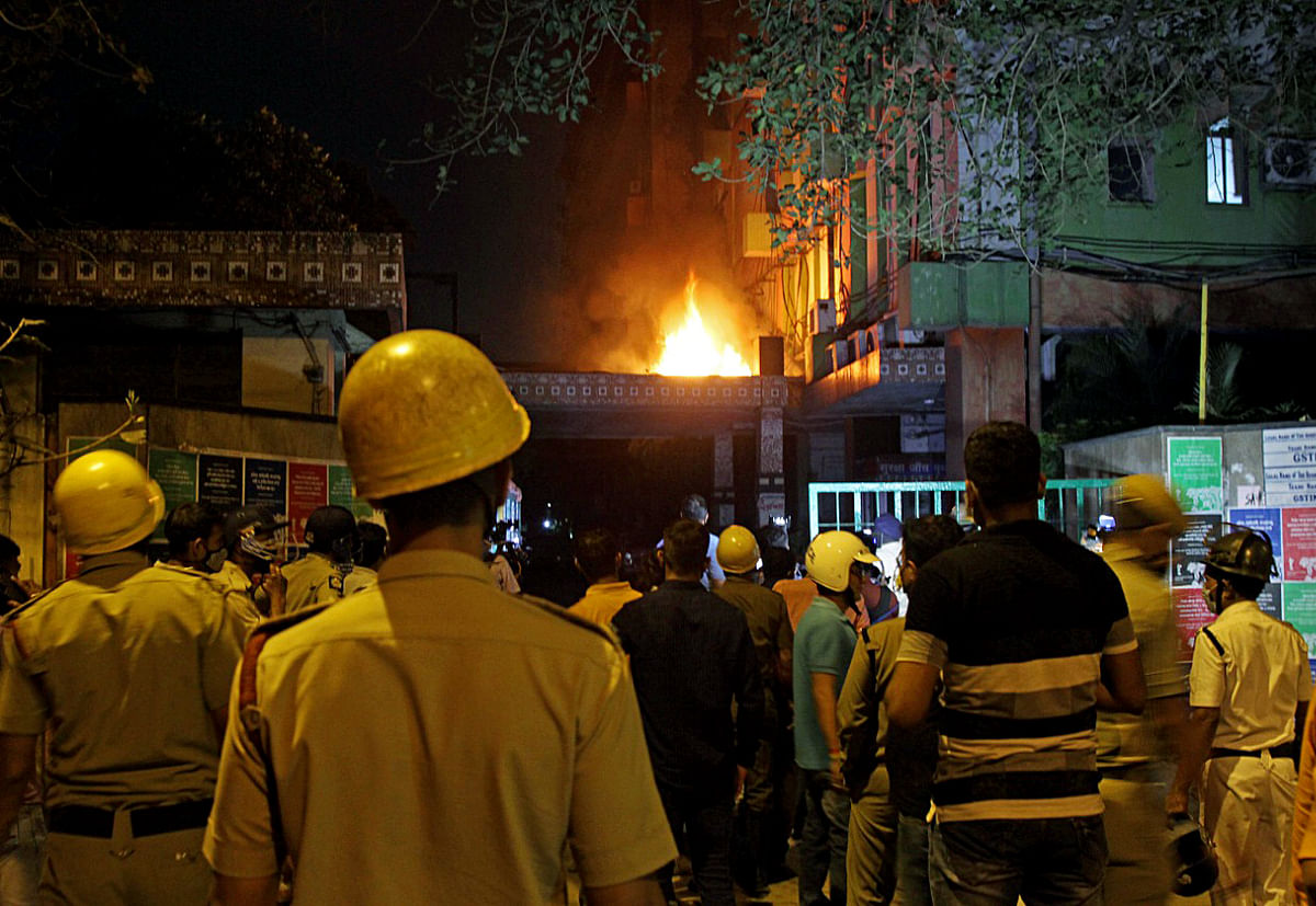 From gun salute for deceased to TMC-BJP slugfest: Here's what happened after Kolkata Strand Road fire incident that claimed 9 lives