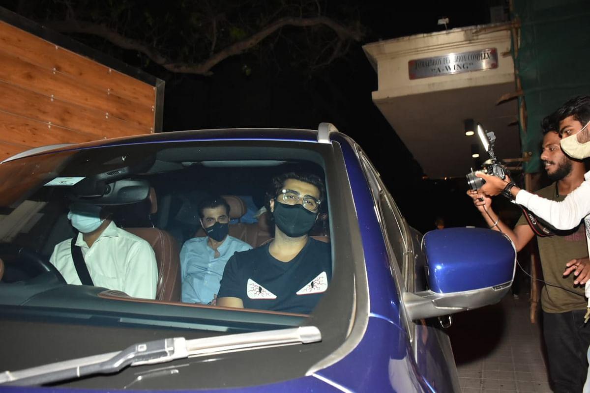 Arjun and Sanjay Kapoor