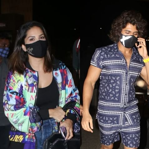 In Pics: Vijay Deverakonda, Sunny Leone, Kriti Sanon and other celebs spotted in Mumbai