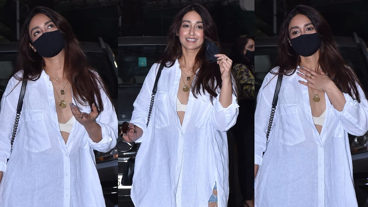 'Itni gareebi': Ileana D'Cruz trolled for showing her bralette in an oversized shirt paired with ripped jeans