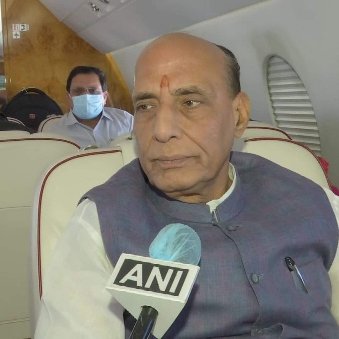 Absolutely sure that BJP will win more than 200 seats in West Bengal polls: Rajnath Singh