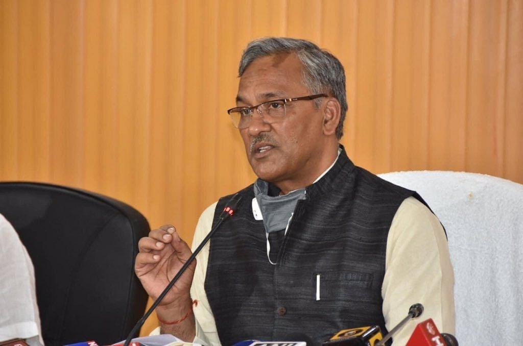 Uttarakhand CM Trivendra Rawat submits resignation to Governor Baby Rani Maurya