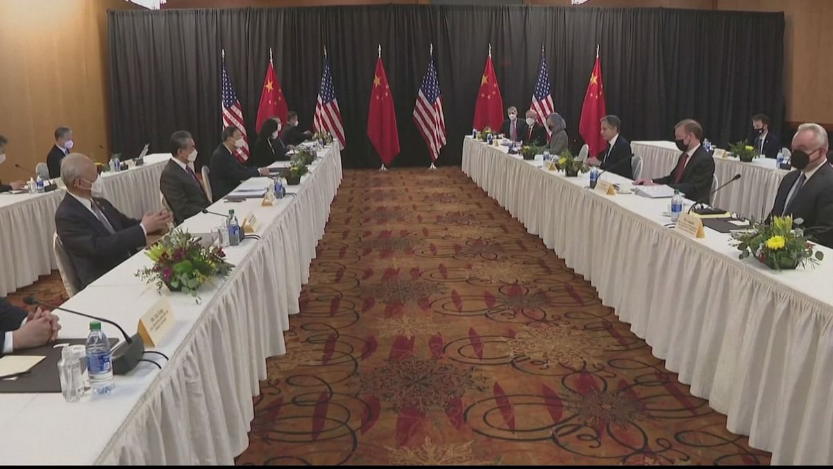 The two-day meeting between the US and the visiting Chinese delegation in Anchorage, Alaska, last week